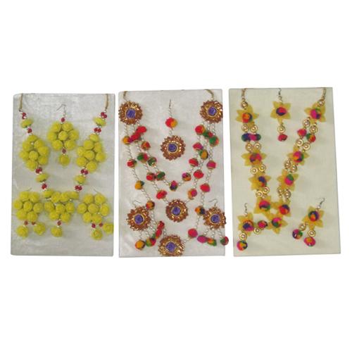 Mehandi Flower Jewellery