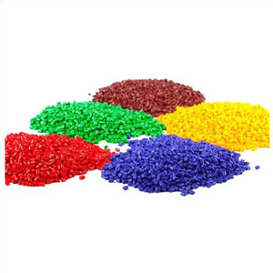 Colored HDPE Plastic Granules