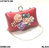 Floral Box Clutch