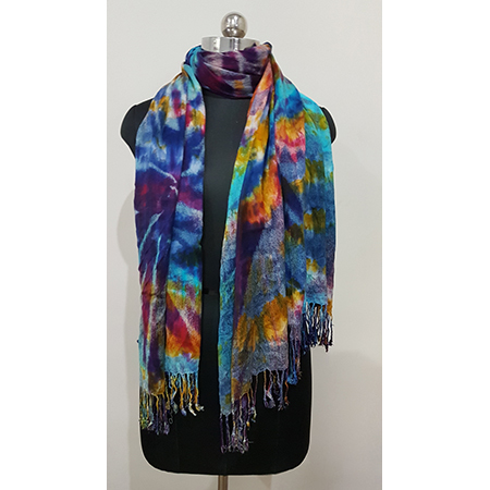 Ladies spray multi stoles