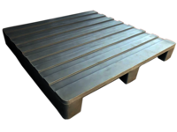 ROTO MOLDED TWO WAY CORRUGATED TOP PLASTIC PALLET
