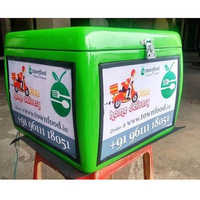 LED FRP Food Delivery Boxes
