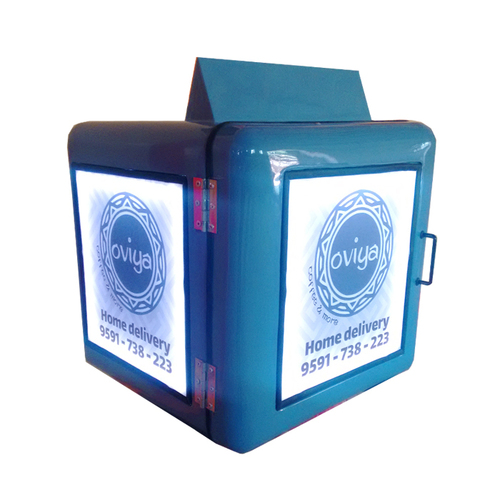 Food Delivery Box with Lighting Effect