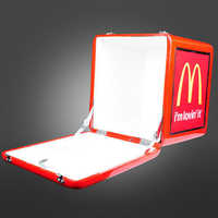 Front Open LED Food Delivery Box