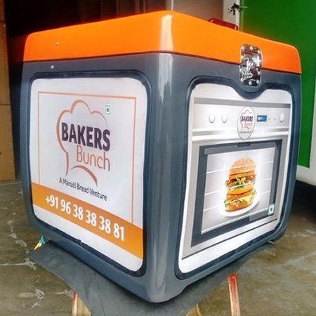 LED Food Delivery Box With Lighting Effect