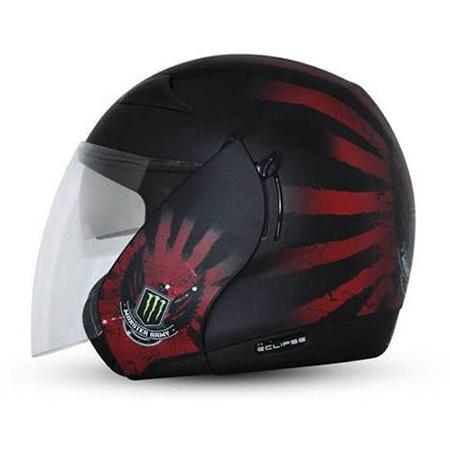 Dual Visor Open Face Helmet