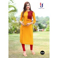 Fancy Rayon Designer Kurtis Hichki Vol 2