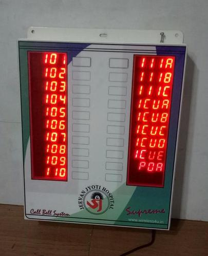 Wireless Nurse Call Bell System 3 And 4 Digit 20 Bed