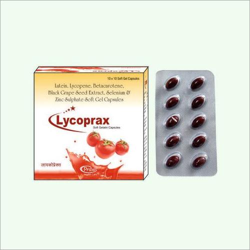 Lycoprax Soft Gelatin Capsules