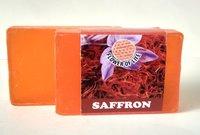 Saffron glycerin soap