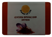 Saffron Glycerin Bathing Soap