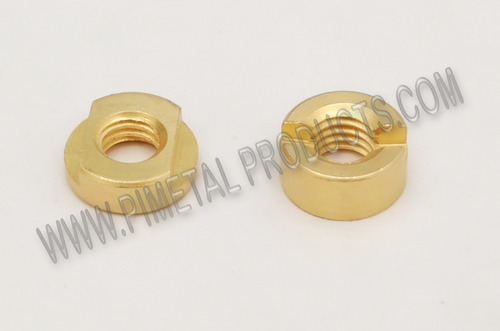 Brass Slotted Nuts