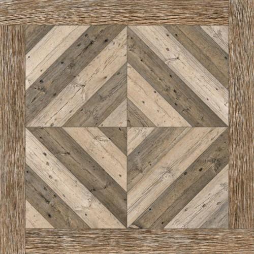 Vintage Brown Parking Tiles