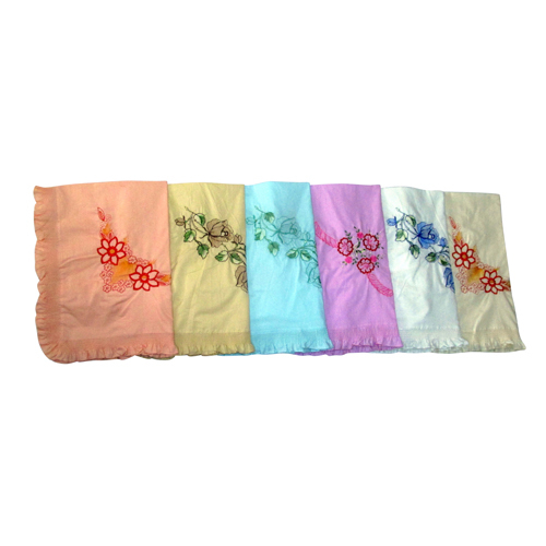 Pillow Cover Light Embroidery Frill Color