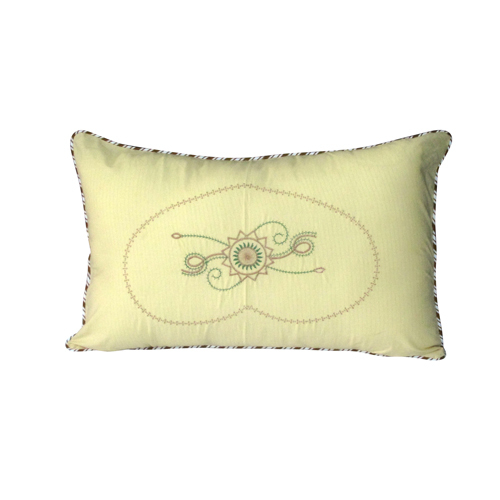 Dorry Pillow Cover Embroidery Color