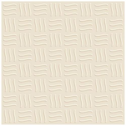 Waves Ivory Vitrified Parking Tiles