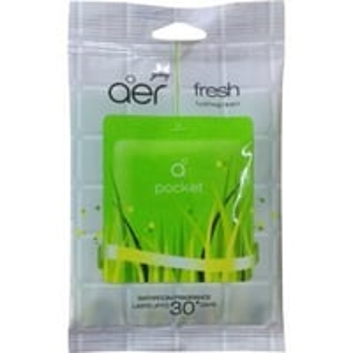 Godrej Aer Pocket Bathroom Fragrance - 10 g (Pack of 6, Fresh Lush Green )