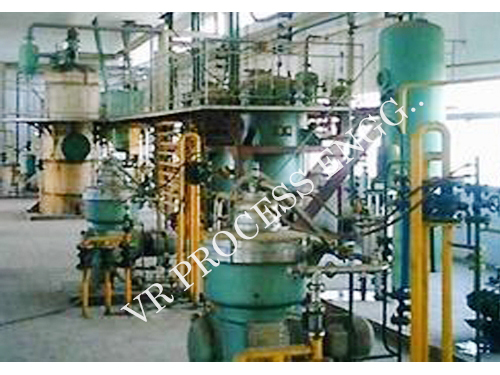 Edible Oil Refinery Plant
