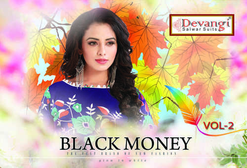 BlackMoney Cotton Dress Material