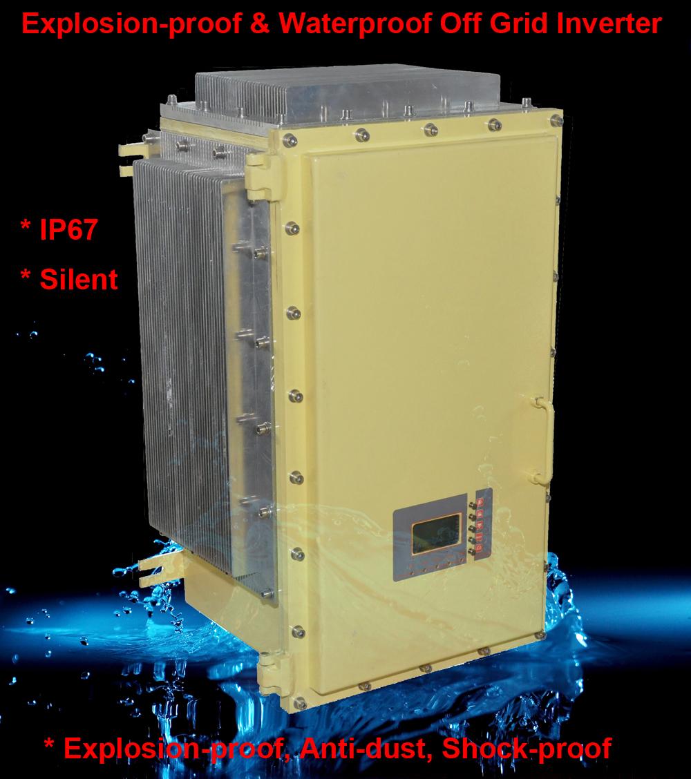 IP65 Explosion proof & Waterproof off grid inverter