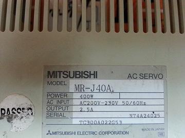 MITSUBISHI MR-J40A