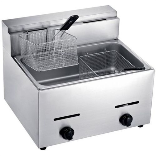 Double Deep Fryer Gas