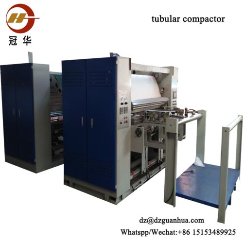 Chinese Famous Brand Knit Fabrics Textile Finishing Machine Tubular Compactor