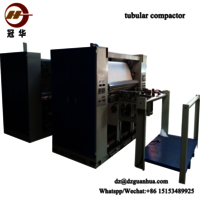 Chinese Famous Brand Knit Fabrics Textile Finishing Machine Tubular Compactor