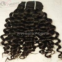 Short Curly Human Hair Weave