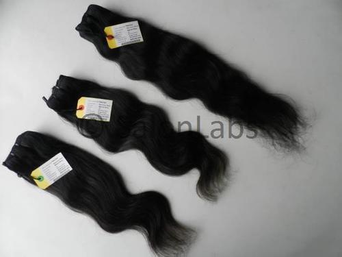Raw Temple Hair