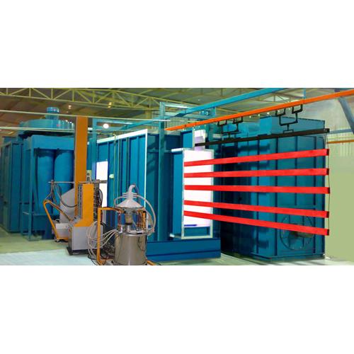 Fully Automatic Powder Coating Plant