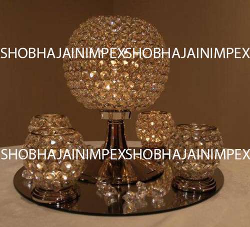 Small Crystal Table Centerpieces