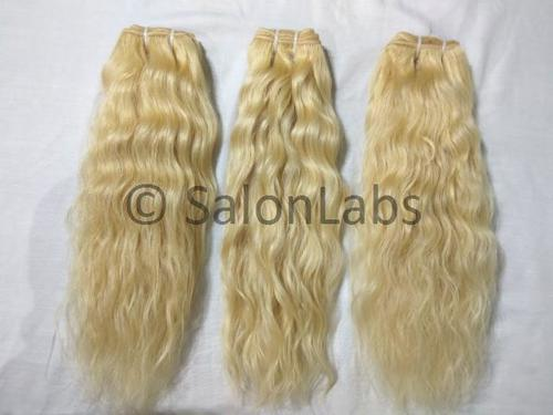 Natural Hair Extensions Blonde