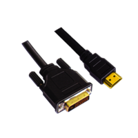 DVI - HDMI 19 PIN MALE