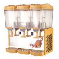 Stainless Steel Triple Fruit Juice Dispenser