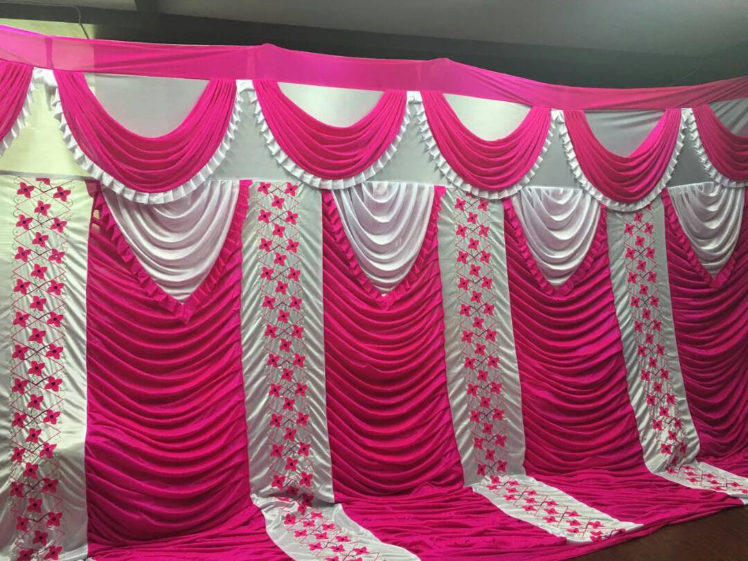 Decorative Wedding Sidewall Tent