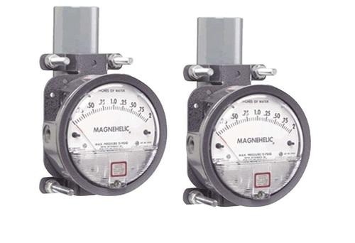 Dwyer 2000-00N Magnehelic Gage Range .05-0-.20 Inch WC