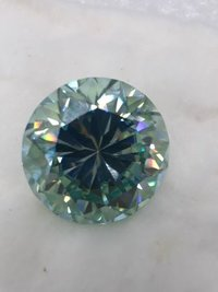 MOISSANITE DAIMONDS COLOUR =BLUE LIME