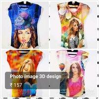 3D Print Ladies T Shirts