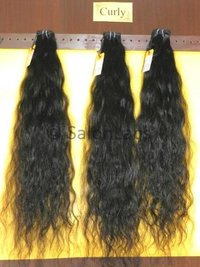 Real unprocessed human hair