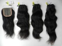 Virgin Hair Bundles with Closure