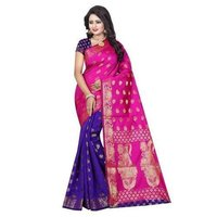Jacquard Printed Saree