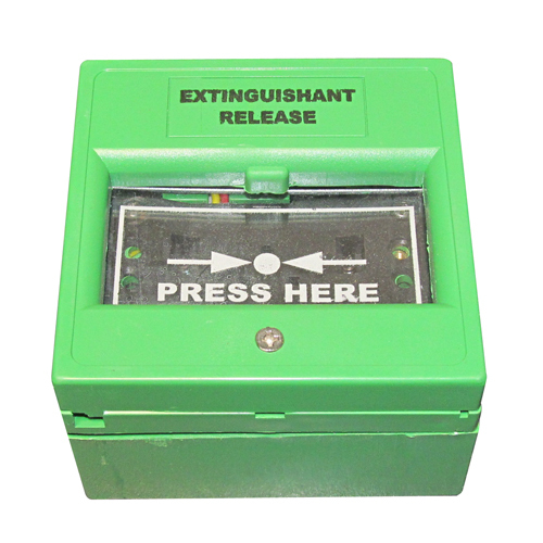 Extinguishant Release Point