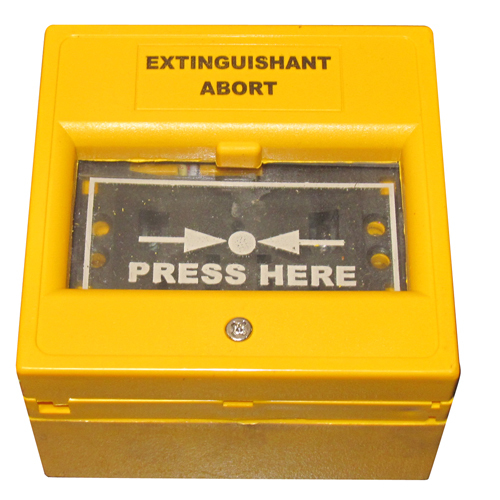 Extinguishant Abort Point