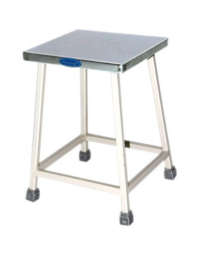 Patient Stool with SS Square Top