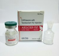 Ceftriaxone 500mg Tazobactam 62.5mg Injection