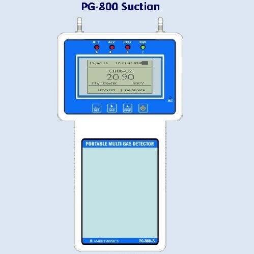 Portable Multi Gas Detector 8 Channel