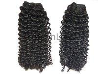 Single Drawn Small Curls Hair