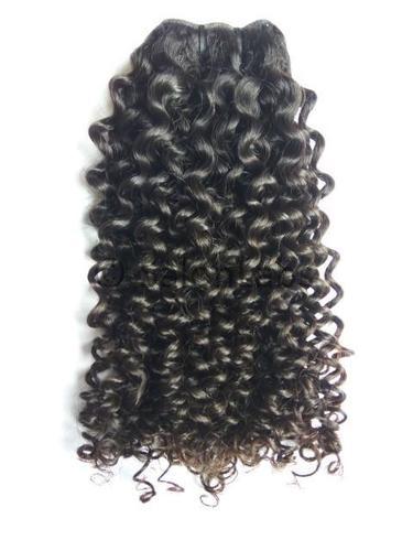 Single Drawn Kinky Curls Hair