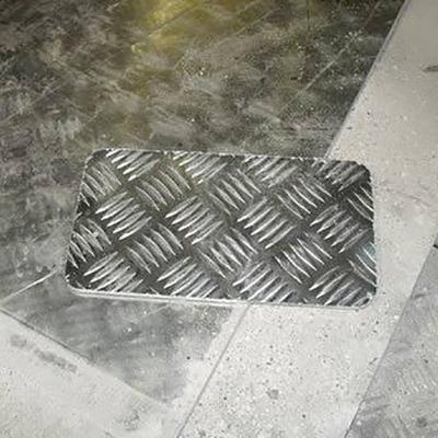 Aluminium Chequered Plate Cutting Service